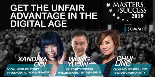 Masters of Success Kuala Lumpur 2019 Featuring Celebrity Speakers