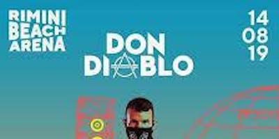 Don Diablo Gigi D'agostino Rimini Beach Arena 14 Agosto 2019 + Hotel