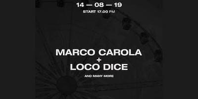 Marco Carola Loco Dice 14 Agosto 2019 Summer Beach Arena + Hotel