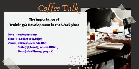 The Importance of Training & Development in Workplace tickets