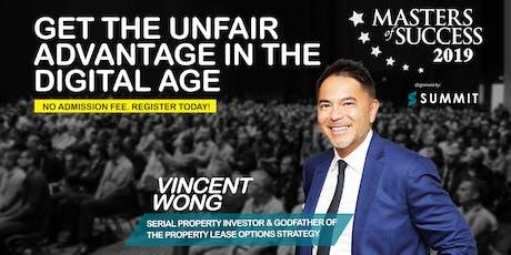 Meet UK's International Property Entrepreneur & Investor At MOS KL 2019 tickets