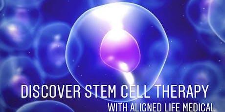 Regenerative Medicine/ Stem Cell FREE Dinner Seminar Old Spaghetti Factory October 1 tickets