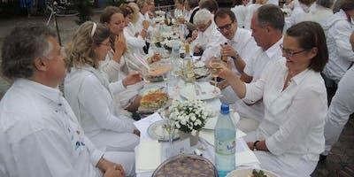 Diner en blanc - Tafeln für die Tafel