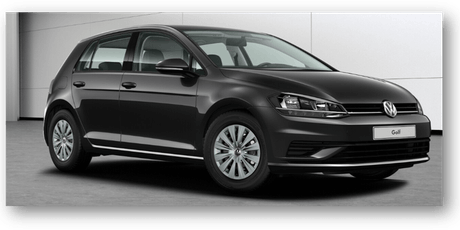 DRIVE YOUR VW-GOLF  Businessmeeting tickets
