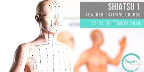 Shiatsu 1 Teacher Training Course tickets
