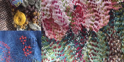 Upcycling - Embroidery, Darning and Applique