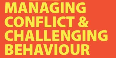 Managing Conflict & Challenging Behaviour - Narrogin