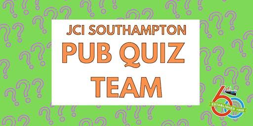 JCI Southampton Pub Quiz Team - JULY