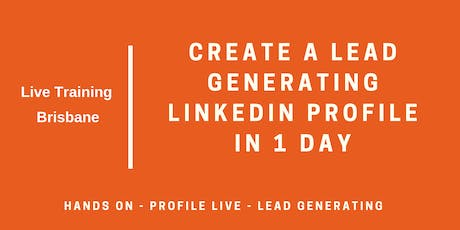 LinkedIn Masterclass: Get Your Profile Set For Growth In 1 Day tickets