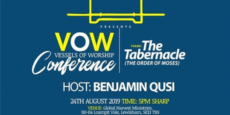 VESSELS OF WORSHIP tickets