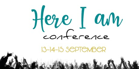 Here I am Conference Tickets