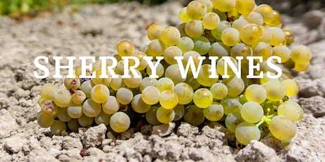Sherry Wines - Spanish Wine Tasting Class tickets
