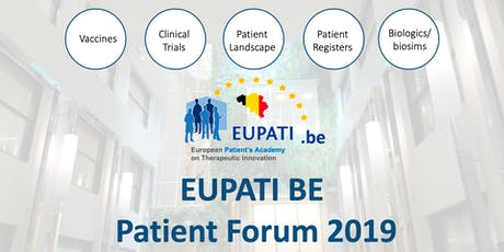EUPATI Patient Forum 2019 tickets