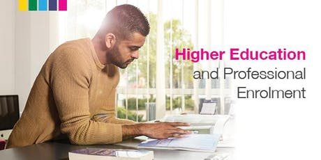 Higher Education and Part Time Professional Enrolment tickets