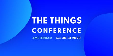 The Things Conference 2020 tickets