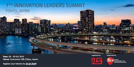 Tokyo Innovation Leader Summit (ILS) 2019 Registration of Interest tickets