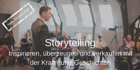 Storytelling: Inspirieren, überzeugen und verkaufen mit der Kraft guter Geschichten Tickets