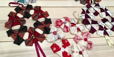Sew an Origami Textiles Festive Wreath