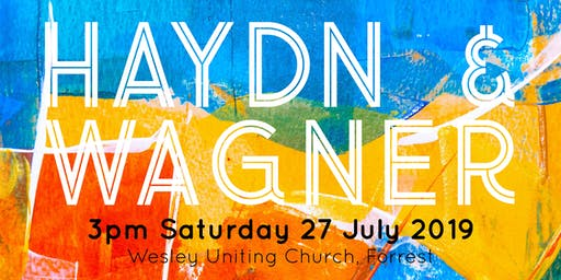 Canberra Sinfonia presents: Haydn & Wagner