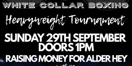 Charity white collar boxing tickets