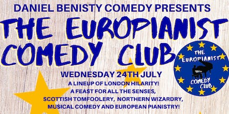 The Europianist Comedy Club tickets