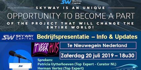 SkyWay Capital Bedrijfspresentatie - Nederland tickets