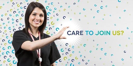 Nurse Recruitment Open Day / Diwrnod Agored i  Recriwtio Nyrsys