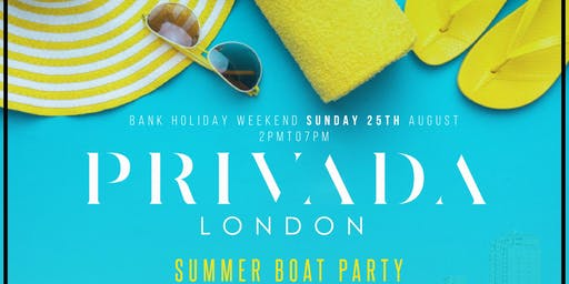 PRIVADA SUMMER BOAT PARTY