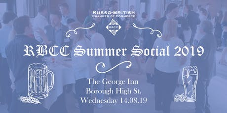 RBCC Summer Social 2019 tickets