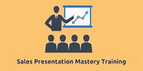 Sales Presentation Mastery 2 Days Training in Perth tickets