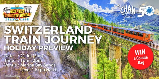 Switzerland Train Journey Holiday Preview
