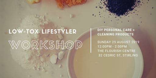 DIY Low-Tox Lifestyler Workshop