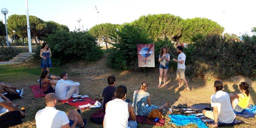 22@ Barcelona Toastmasters - Public Speaking / hablar en publico OPEN AIR SESSION