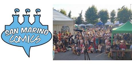 San Marino Comics biglietti