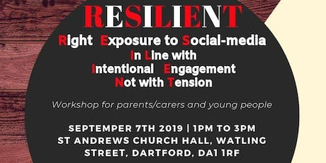 RESILIENT - Social-media Intentional Engagement Not with Tension tickets