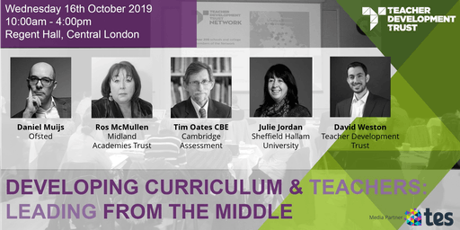 Developing Curriculum and Teachers: Leading from the middle