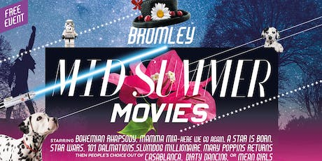 Midsummer Movies - Saturday 10th August - Mary Poppins Returns  tickets
