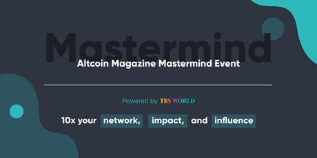 Altcoin Magazine Mastermind Event tickets