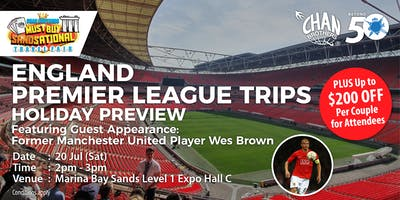 England Premier League Trips Featuring Guest Appearance: Former Manchester United Player Wes Brown
