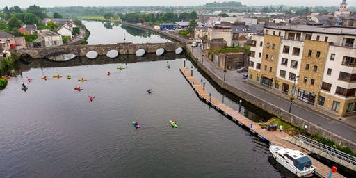 River Suir Blueway Kayak Trip: Clonmel to Kilsheelan 20th July 2019