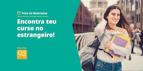 Feira de Pós-Graduações Internacionais em Lisboa  bilhetes