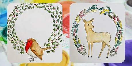 Create a Christmas Mandala with artist Sarah Lovell  tickets