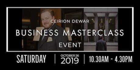 Business Masterclass tickets