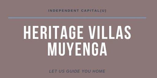 MUYENGA HERITAGE ZONE VILLAS GROUND BREAKING!