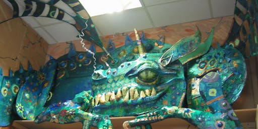 Here be dragons - 2d/3d art workshop with Darrell Wakelam