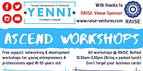 ASCEND! Workshop Series tickets