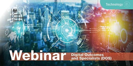 Digital Outcomes and Specialists 4 (DOS 4) Supplier Onboarding Webinar