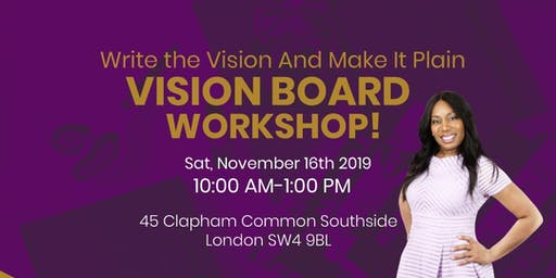 THE SPECTACULAR WOMAN VISION BOARD WORKSHOP