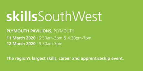 Skills South West 2020 - School / College Registration  tickets
