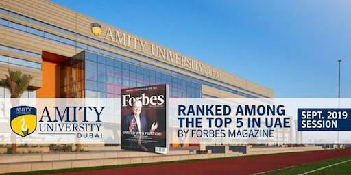 Amity University Dubai Admissions Day 2019